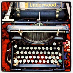 My latest typewriter circa 1930s