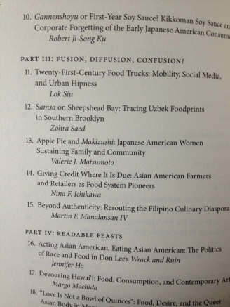 The joy of seeing my name in the Table of Contents never gets old