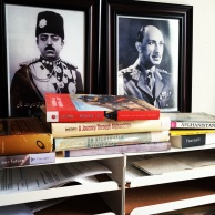 Researched, read and wrote with these guardians of Afghan knowledge watching over my work.