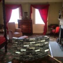 UnPacked Exhibit by Peter Hoffmeister at Morris Jummel Mansion