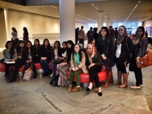 Arab American Lit students at MoMA to see Emily Jacir's Ramallah/New York video work.