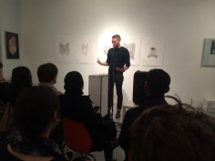 "Matthew reading excerpts of ""Slippers from Elsewhere"" (UpSet Press 2014)"