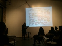 Swati Khurana presents work she collaborated with Tamina Davar on for AALR 90s Asian American Activism launch